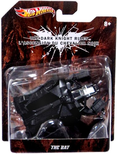 Hot Wheels The Dark Knight Rises The Bat Diecast Replica