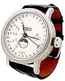 [エアロマチック1912]aeromatic1912 腕時計 ドイツ製一戦復刻 自動巻カレンダーユニックな A1281 【並行輸入品】