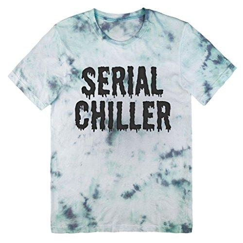 Killer Condo Serial Chiller Pastel Unisex Tie Dye T-Shirt Medium (Grunge Tie Dye compare prices)