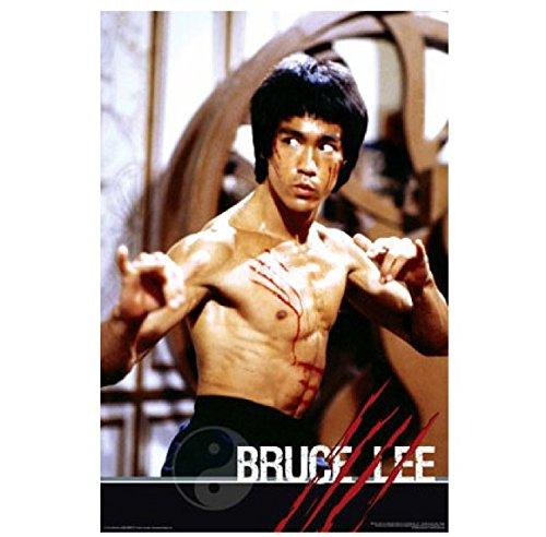 ブルース・リー 李 小龍 ポスター Bruce Lee poster 公式ライセンス商品 P00000CP (61×91cm)
