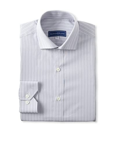 Alton Lane Men's Reverse Stripe Dress Shirt