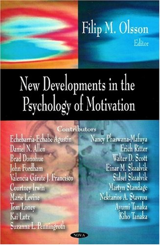 New Developments in the Psychology of Motivation