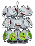 DecoBros K-cup carousel organizer, Chrome Finish