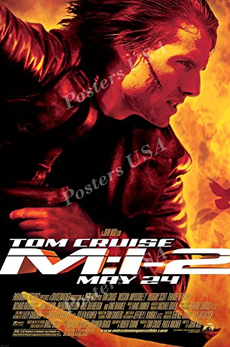 """Posters USA - Mission Impossible II 2 Tom Cruise Movie Poster- MOV222 (24"""" x 36"""" (61cm x 91.5cm))"""