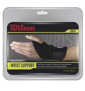 Wilson Wrist Support (Black) by Wilson