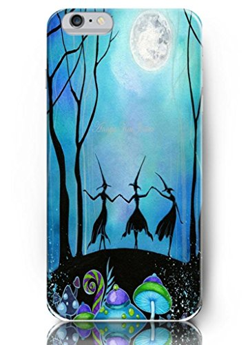 Ouo Cool Unique Design High Quality Slim Fit 4.7 Inch Iphone 6 Case Dancing Witches