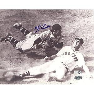 Steiner Sports MLB New York Yankees Yogi Berra vs Ted Williams Slide B&W... by Steiner Sports