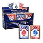 BICYCLE (12 Decks Pack Blue and Red)...