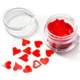 Edible By Design Red Hearts, 4 Gram