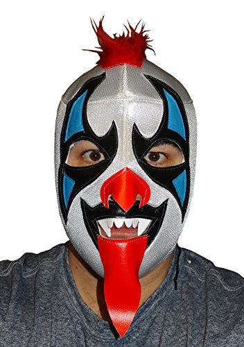 PSYCHO CIRCUS Adult Lucha Libre Wrestling Mask (pro-fit) Costume Wear - RED