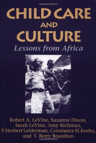 Child Care and Culture: Lessons from Africa by Robert A. Levine (1996-09-13)