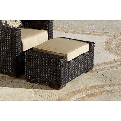 RST Outdoor OP-PECCLOTTO-LNK-E Resort Collection Club Ottoman Rattan Patio Furniture, Espresso at Sears.com