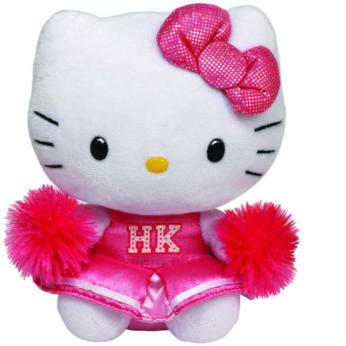 Ty Beanie Babies Hello Kitty Plush, Cheerleader