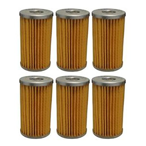 15521-43160 Six (6) New Kubota Fuel Filters L275 L405 L3300 L3350 L3450 L3750 ++