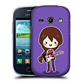 Head Case Rockstar Cool Girl Hard Back Case Cover For Samsung Galaxy Fame S6810