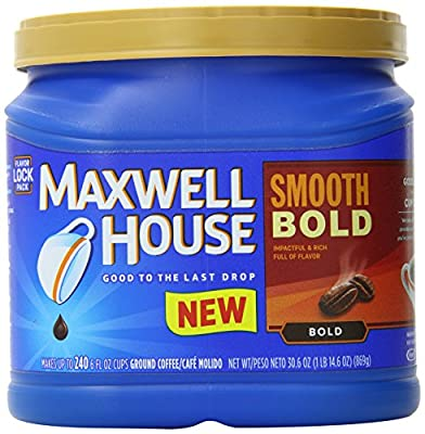 Maxwell House Smooth Bold Ground Coffee, 30.6 Ounce by Maxwell House