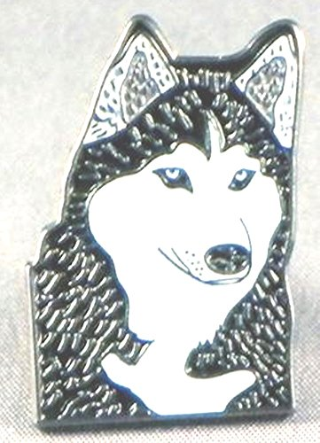 metal-email-badge-a-epingle-broche-husky-chien-malamute