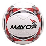 Mayor World Sigma Football, Size 5 (Red/Black)