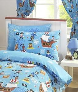 Rideaux enfants les bons plans de micromonde for Rideau chambre garcon bleu