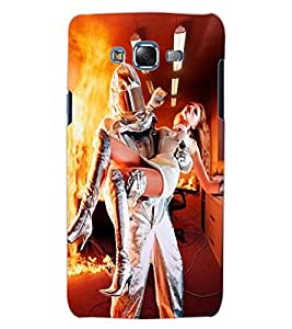 ColourCraft Rescuing Hero Design Back Case Cover for SAMSUNG GALAXY J5