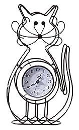Cat Tabletop Clock