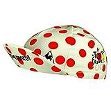 Le Coq Sportif - Official 'Tour de France Centenary' Racer Cap - Polka dot by Le Tour de France