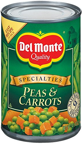 Del Monte Peas & Carrots - 14.5 oz (Canned Mixed Vegetables compare prices)