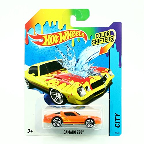 CAMARO Z28 * COLOR SHIFTERS * 2014 Hot Wheels City Series 1:64 Scale Vehicle #21/48 (Camaro 2014 Hot Wheels compare prices)