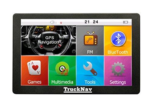 NEW-127-cm-Camion-GPS-avec-Bluetooth-sun-shieldPoids-lourdscamioncaravanevoiture