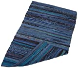 DII Home Essentials Rag Rug for Kitchen, Bathroom, Entry Way, Laundry Room and Bedroom, 20 x 31.5