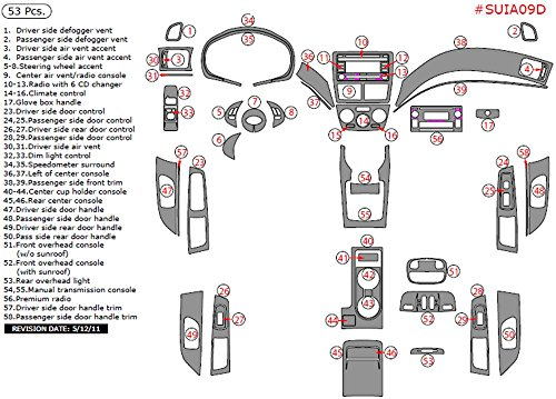Fits 90-93 Honda Accord INSIDE Door Handle Manual Red LH