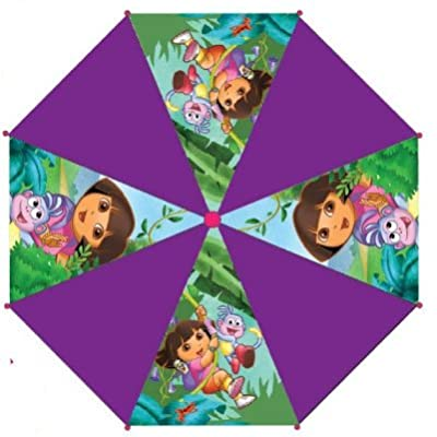 Children's Character 'Dora The Explorer' Purple Umbrella