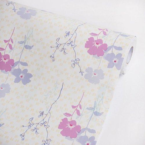 Purple Jasmine - Vinyl Self-Adhesive Wallpaper Prepasted Wall Stickers Wall Decor (Roll) front-167888