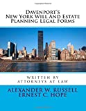 Davenport's New York Will And Estate Planning Legal Forms