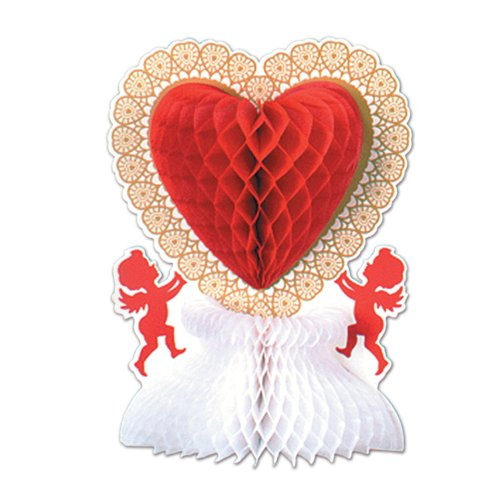 Beistle 77042 Valentine Centerpiece, 11-Inch, 1 Per Package
