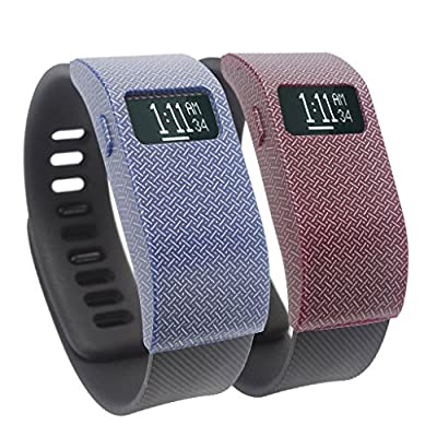 Slim Designer Sleeve Band Cover Protector Accessories for Fitbit Charge HR (No Tracker,No Band)