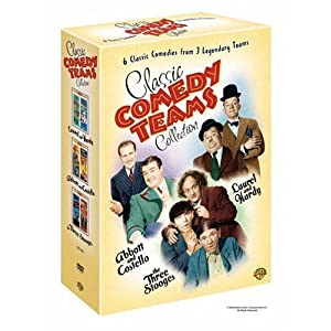 Classic Comedy Teams Collection (Laurel &#038; Hardy: Air Raid Wardens, Nothing But Trouble; Abbott &#038; Costello: Abbott &#038; Costello in Hollywood, Lost in a Harem; 3 Stooges: Gold Raiders, Meet the Baron)