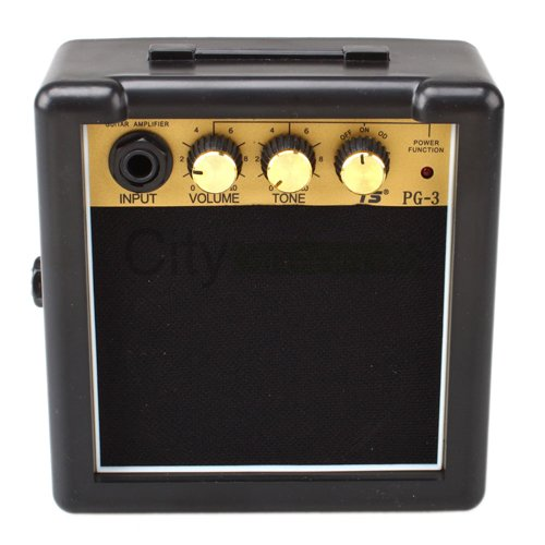 New Electric Guitar Practice Amplifier Powerful Sound Amp Gt-3W