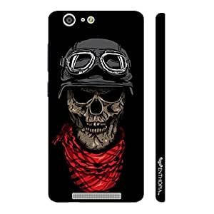 Enthopia Designer Hardshell Case Skull 3 Back Cover for Gionee Marathon M5