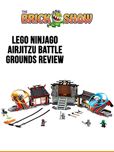 LEGO Ninjago Airjitzu Battle Grounds Review (70590)