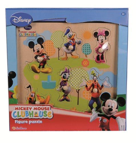 Imagen principal de Eichhorn 100003302 Mickey Mouse - Puzzle de madera