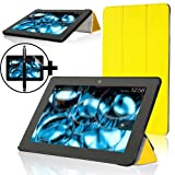 ForeFront Cases® New Kindle Fire HDX 8.9 Leather Case Cover / Stand WILL ONLY FIT All-New Kindle Fire HDX 8.9