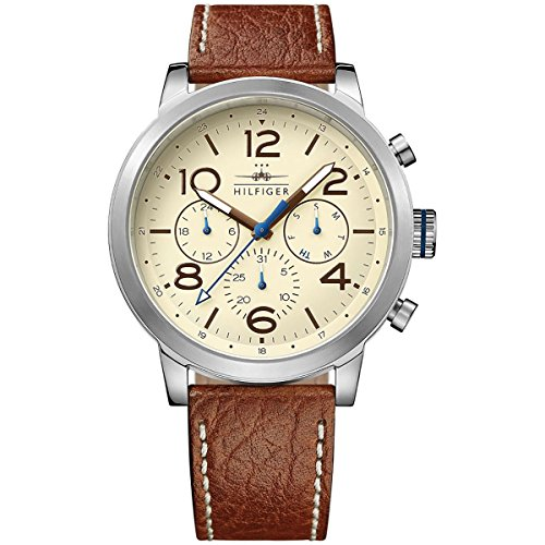 Tommy-Hilfiger-Mens-1791230-Jake-Analog-Display-Japanese-Quartz-Brown-Watch