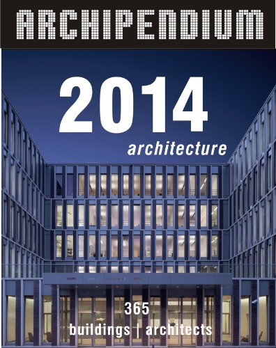 Archipendium 2014 Desk Calendar: 365 Days Full of Architecture