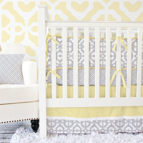 Caden Lane Mod 2 Piece Crib Set - 1
