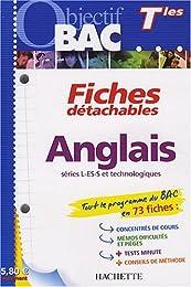 Anglais Tle séries L-ES-S et technologiques