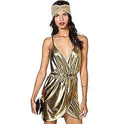 Sexy V-neck Belted Lace Spaghetti Strap Leather/Polyester/Rayon/Spandex Club Dress/Evening Dress/Party Dress/Wedding Dress