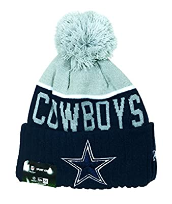 Dallas Cowboys New Era on Field Sport Knit Hat