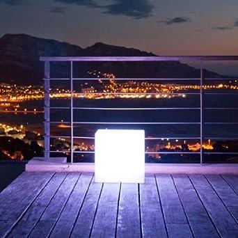 Lampes de jardin Lumi/ère dinondation ext/érieure 10W RVB Lampe de paysage /étanche /à distance Lampe de mur de s/écurit/é /à distance avec lampe Dimmable LED avec piquet pour chemin de jardin Patio-Pack