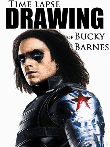 Time Lapse Drawing of Bucky Barnes